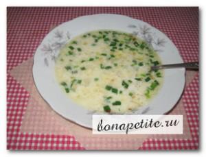 суп вишисуаз сырный
