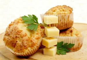 маффины с сыром