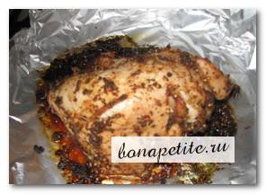 рецепт филе индейки в духовке