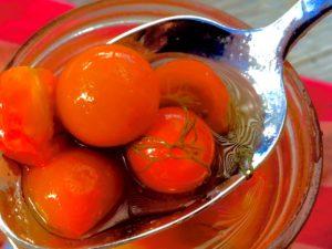 приготовление маринованных помидоров