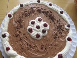 торт шварцвальдский черный лес