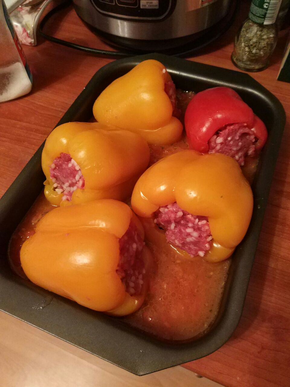 Фаршированный перец рецепт с пошагово в кастрюле